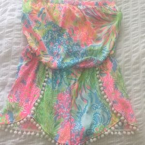 Lilly Pulitzer Other - NWOT Lilly Pulitzer Silk Romper